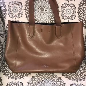 Coach Large Derby Tote. F59818. Soft leather.